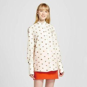 Victoria Beckham for Target bee print shirt